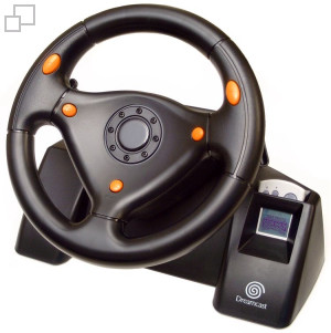 SEGA Racing Wheel