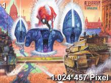 Alien Front Online Wallpaper 1.024x457px
