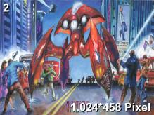 Alien Front Online Wallpaper 1.024x458px