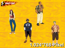 Crazy Taxi Wallpaper 1.024x768px