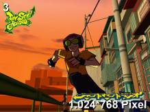 Jet Set Radio Wallpaper 1.024x768px