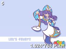 Puyo Puyo Fever Wallpaper 1.024x768px